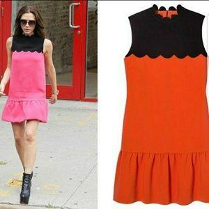 NWT Victoria Beckham Scallop Dress